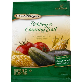 Mrs. Wage's® Canning & Pickling Salt 3#