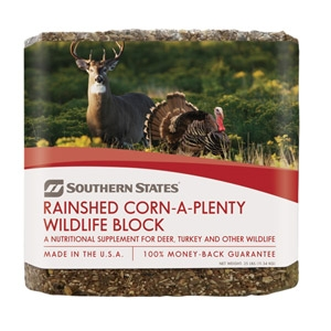 Southern States® Rainshed Corn-A-Plenty Wildlife Block