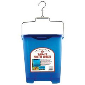 Harris Farms® Tap-It 4 Gallon Hanging Poultry Waterer