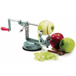 Norpro Apple Mate Screw Mount-Stainless Steel Fruit Peeler, Corer, and Slicer