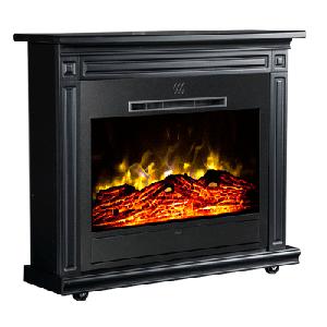 Heat Surge Roll-N-Glow Black Fireplace