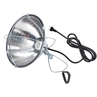 Miller Mfg. Brooder Reflector Lamp with Clamp 10.5