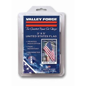 Valley Forge® 3'x5' United States Flag (Poly/Cotton)