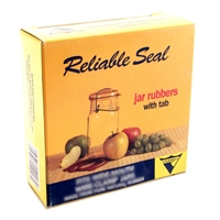 Reliable Seal® Regular Mouth Canning Jar Rubbers with Tabs