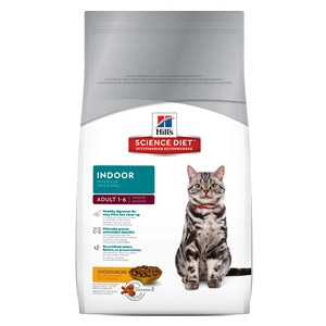 Hill's® Science Diet® Indoor Adult Cat Food Ages 1-6 (7#)