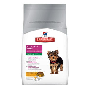 Hill's® Science Diet® Small & Toy Breed-Puppy Food (4#)