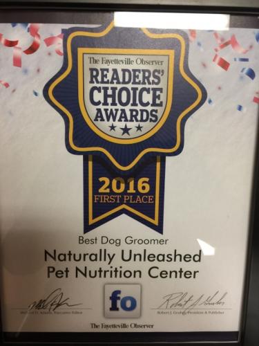 Readers' Choice Awards 2016
