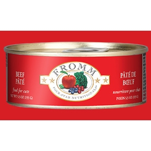 Fromm Four-Star Beef Pâté for Cats