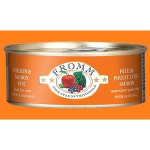 Fromm Four-Star Chicken & Salmon Pâté for Cats