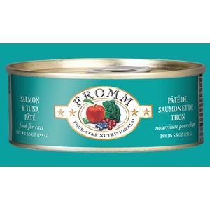 Fromm Four-Star Salmon & Tuna Pâté for Cats