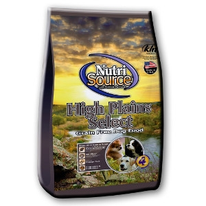 Nutrisource Grain Free High Plains Select 5 Lb.