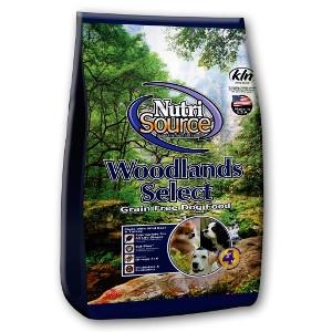 Nutrisource Grain Free Woodlands Select 15 Lb.