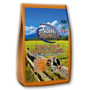 Nutrisource Grain Free Lamb Meal & Peals Formula 15 Lb.