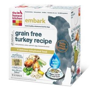 Embark Grain Free Turkey Dog Food