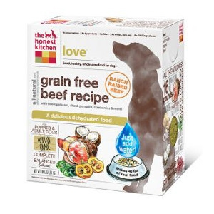 Love Grain Free Beef Dog Food