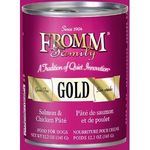 Gold Salmon & ChickenPâté