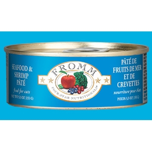 Fromm Four-StarSeafood & Shrimp Pâté for Cats
