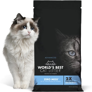 Zero Mess Unscented Cat Litter