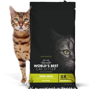 Zero Mess Pine Scented Cat Litter