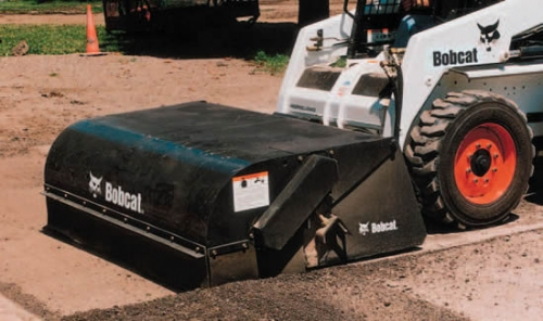 Sweeper/Broom Attachment Skid Loaders (NEW!)