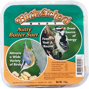 Pine Tree Farms Nutty Butter Suet: $.69