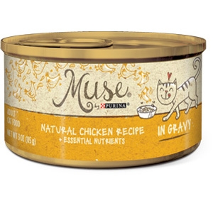 Muse by Purina natural Chicken Cat Food Recipe