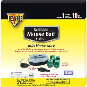 Revenge Refillable Mouse Bait Station
