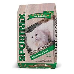 Sportmix Gourmet Cat Food: $14.99