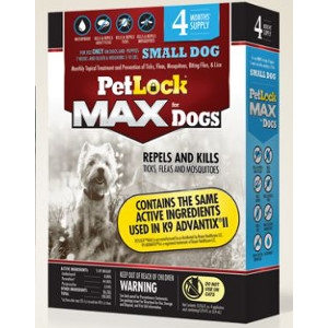 PetLock MAX for Small Dogs 4-10 Lbs.