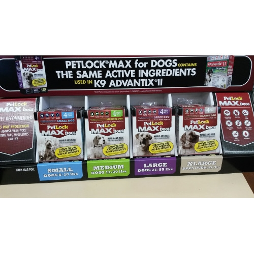 NEW PetLock Max: $20 Off per 4 Pack