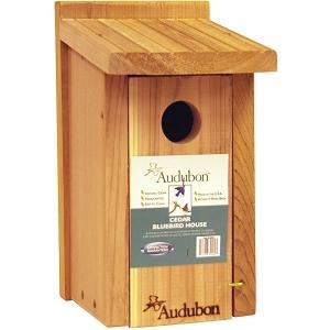Audobon Cedar Bluebird House