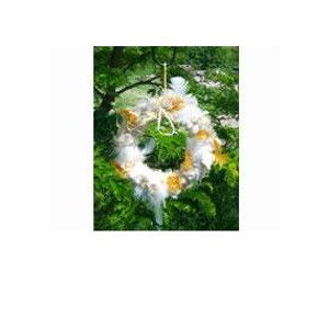 Wildbird Nesting Material Wreath