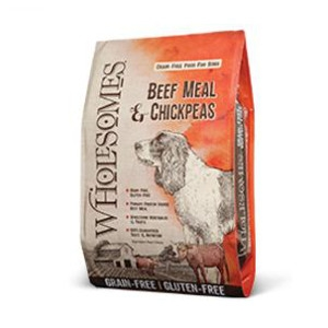 Wholesomes Grain-Free Beef Meal & Chickpeas