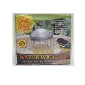 Solar Water Wiggler for Bird Baths