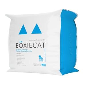 Boxiecat Scent-Free Premium Clumping Clay Cat Litter 28 lb.