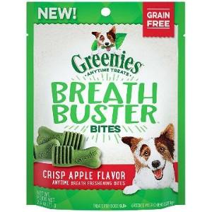 GREENIES™ BREATH BUSTER™ Bites Crisp Apple Flavor Treats for Dogs 5.5 oz.