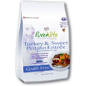 Pure Vita Turkey & Sweet Potato Entrée Grain Free 5 lb. Bag