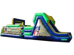 Pirate Obstacle Course/Bounce House
