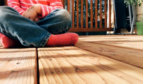 Keep Your Wood Deck From Splintering After Pressure Washing