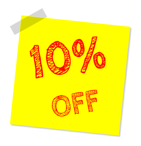 10% Off Inflatables & Concessions