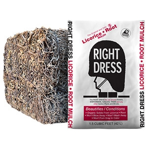 Right Dress Licorice Root Mulch- 5 Bags for $25.99