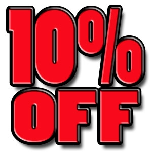 10% off rental of $100+