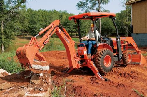 Kubota B26TLB Tractor Backhoe