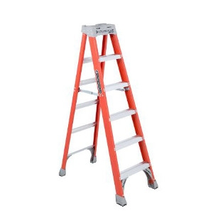 6' Fiberglass Step Ladder: $79.87