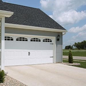 Residential Carriage House Stamped Garage Door