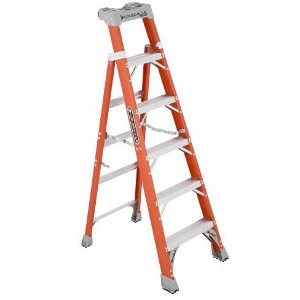 6' Fiberglass Cross Step, Step Ladder