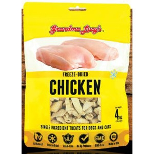Freeze-Dried Chicken Single Ingredient Treats for Dogs and Cats