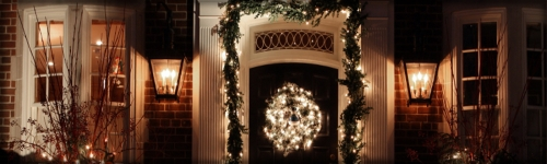 Let the Glow of the Holidays...