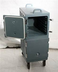Double Insulated Food Carrier with Cart