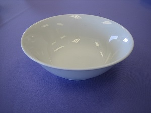 White China Bowl